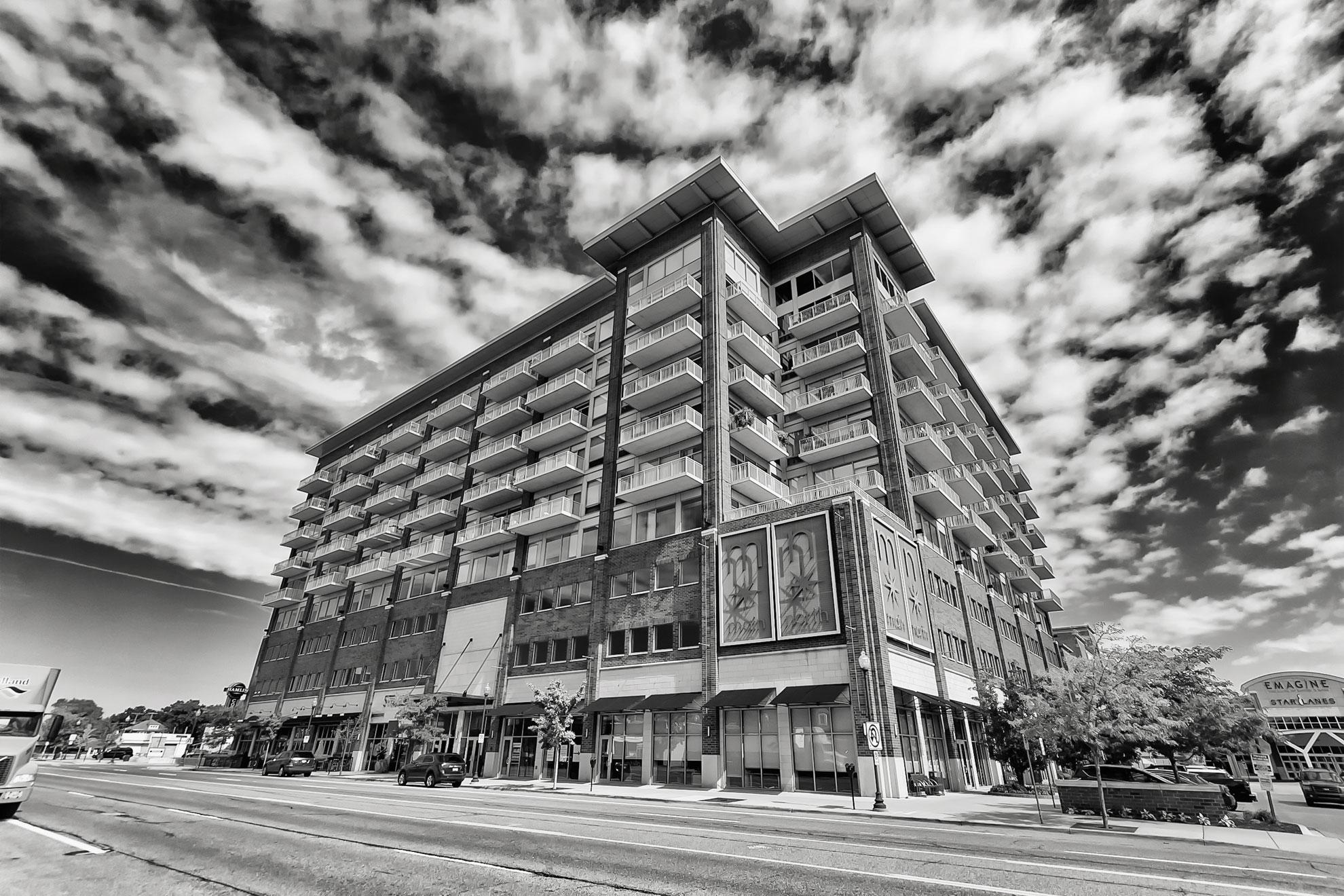 Main Street Condos in downtown Royal Oak