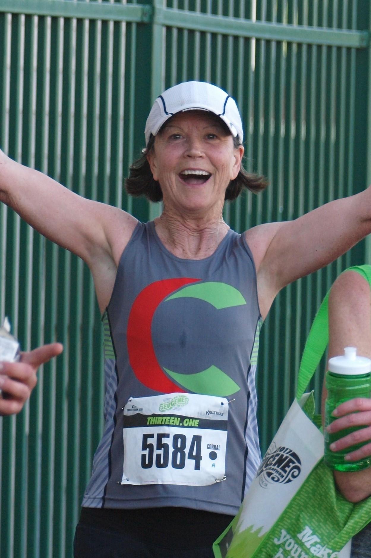 Regina Joyce - Olympic Marathon Runner