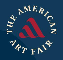 Logo for The American Art Fair in November 2019