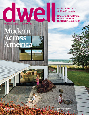 Lola House is featured in Dwell's July/August 2014 issue.