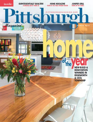 Creek Drive Residence wins Home of the Year 2014: Best Renovation award.