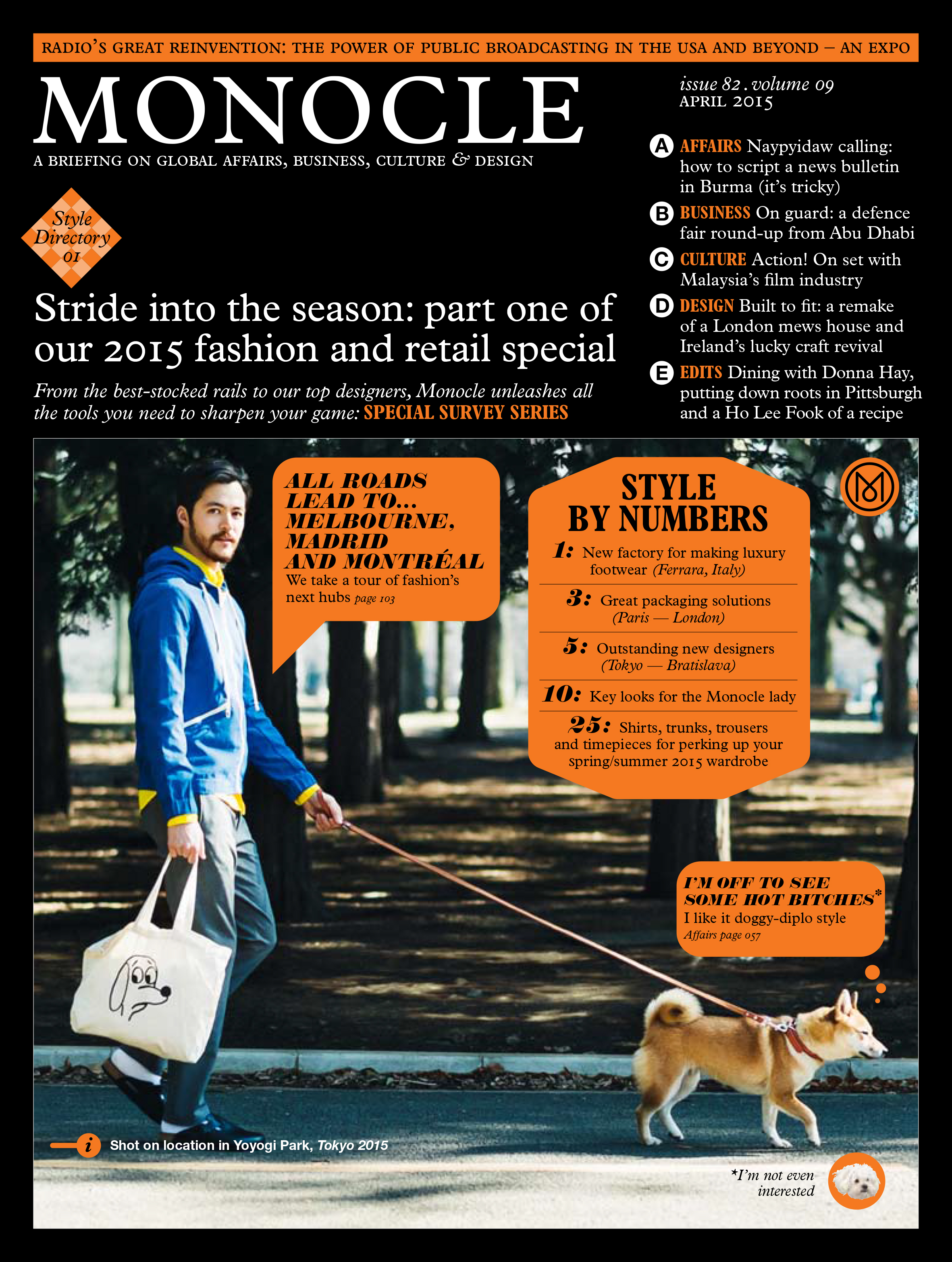 Andrew Moss and several local Lawrenceville, Pittsburgh businesses are featured in the April 2015 issue of  Monocle Magazine .