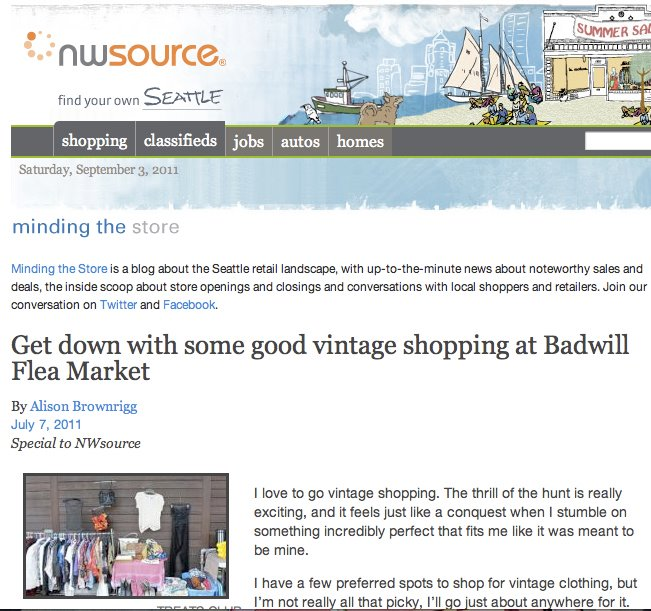 NW SOURCE // BADWILL MARKET FEATURE