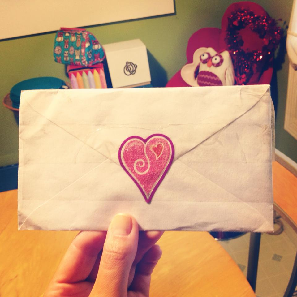 """A love note from Brazil! Read my post: """" Write More Letters """"."""
