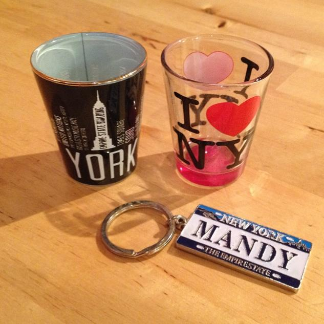 Christen brought me home some treats from NYC!