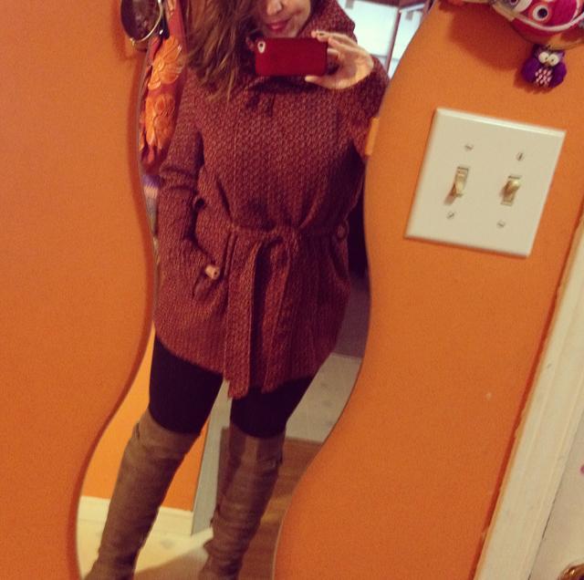 My new fall tweed jacket. So in love xo