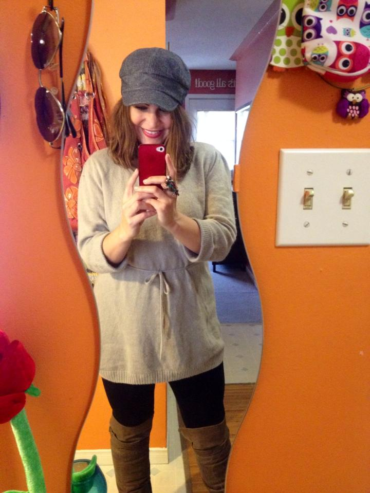 Week 6 of  No Shampoo  and a cozy sweater from Paige!