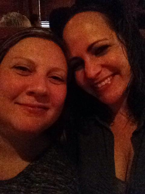 Dinner at The Keg with Melissa to help with  my birthday blues .