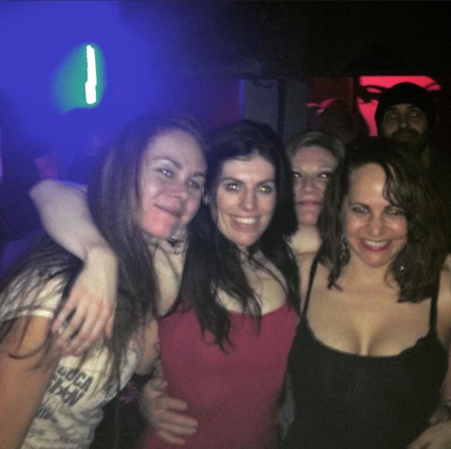 A fun night out with the girls at Starlight.