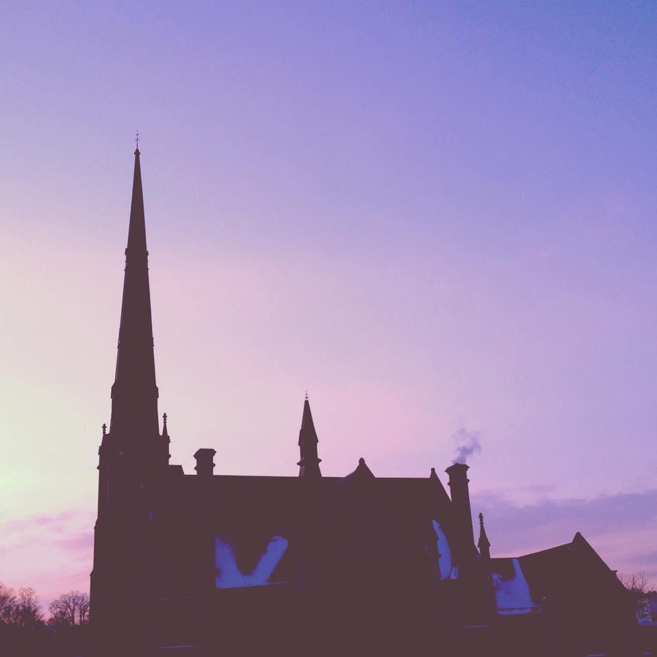 A church in downtown Cambridge.