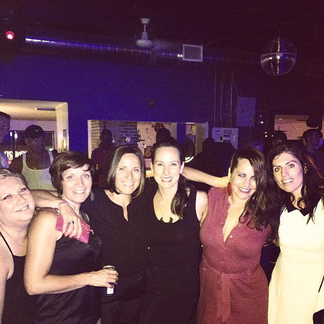 At Starlight with the ladies