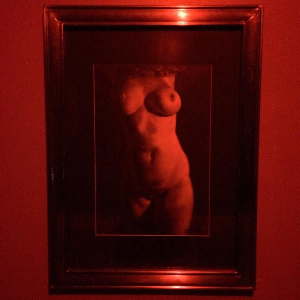 Art at stop #2. Listen: (Podcast) Sex Club Shenanigans