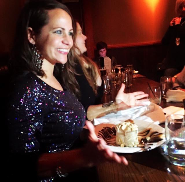 40th birthday  dessert at The Keg