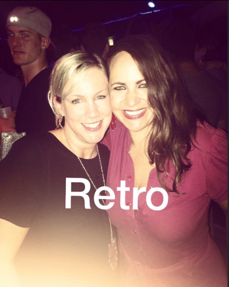 Retro night with Gayle!