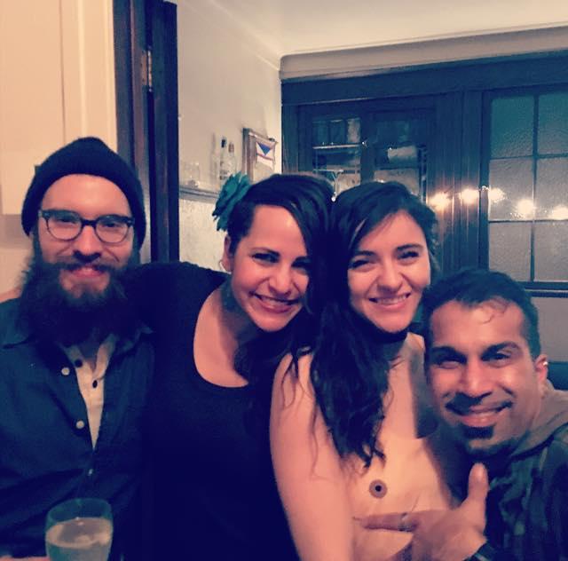 My loves, Patrick, Fiona and Saj