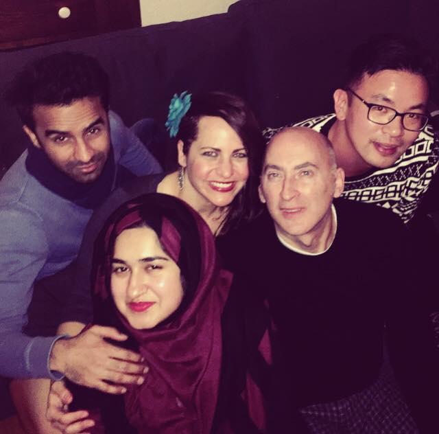 My loves, Majid, Rida, Yain and Kai