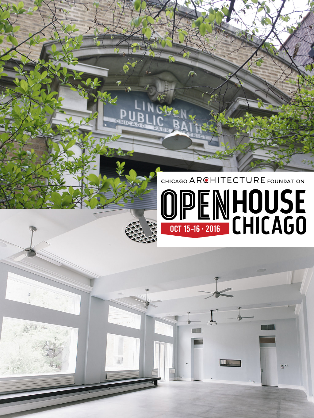 WOLCOTT BATHHOUSE  FEATURED IN  OPEN HOUSE CHICAGO   The Lincoln Street Bath House is arguably the most architecturally interesting bath houses in Chicago, inspired by the architecture of ancient Roman monuments.