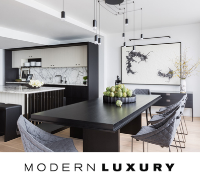 CS MODERN LUXURY  FEATURE   A  remodel of a vintage condo  in Water Tower builds on beautiful architectural bones.