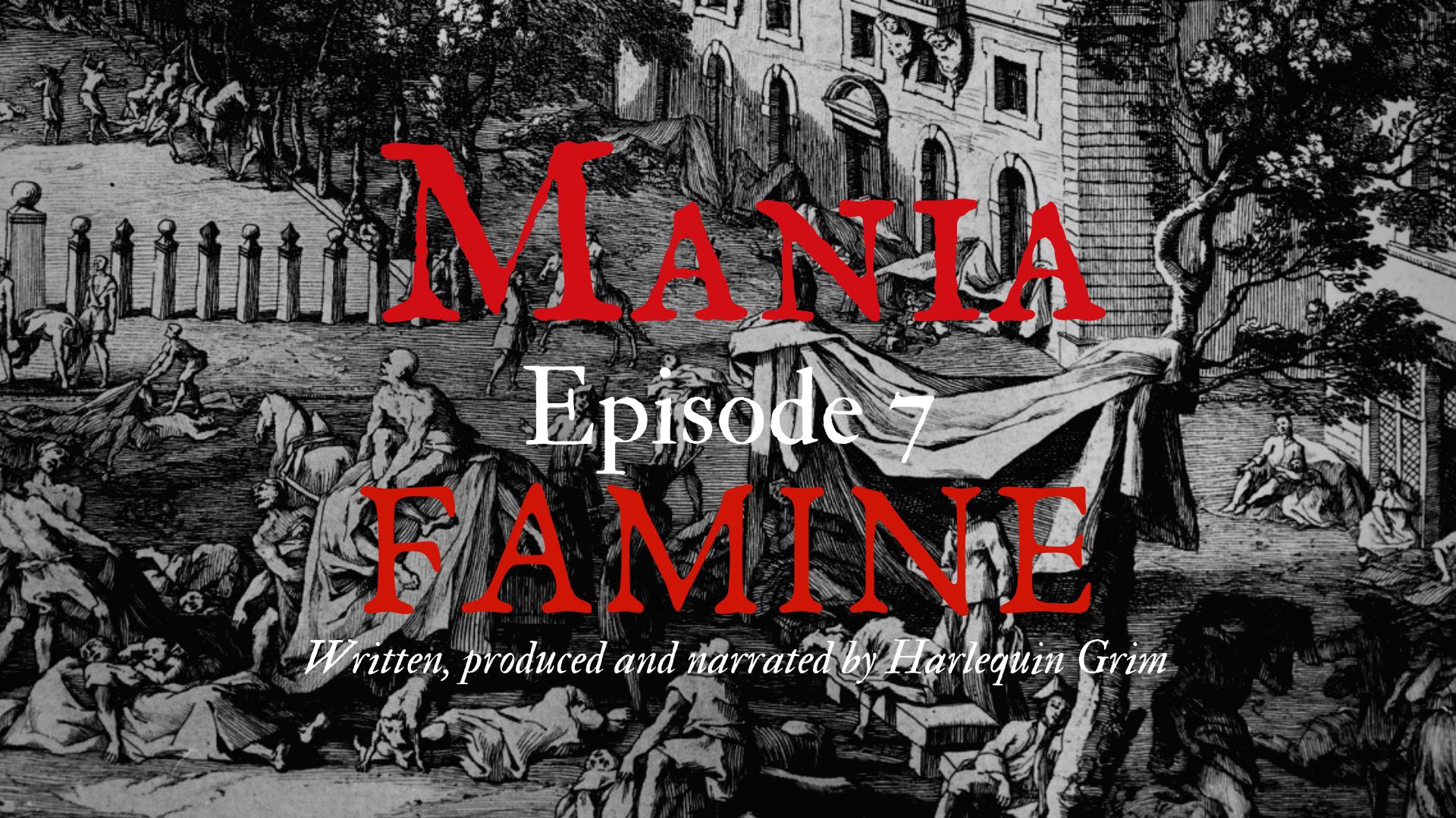 Famine, 1590