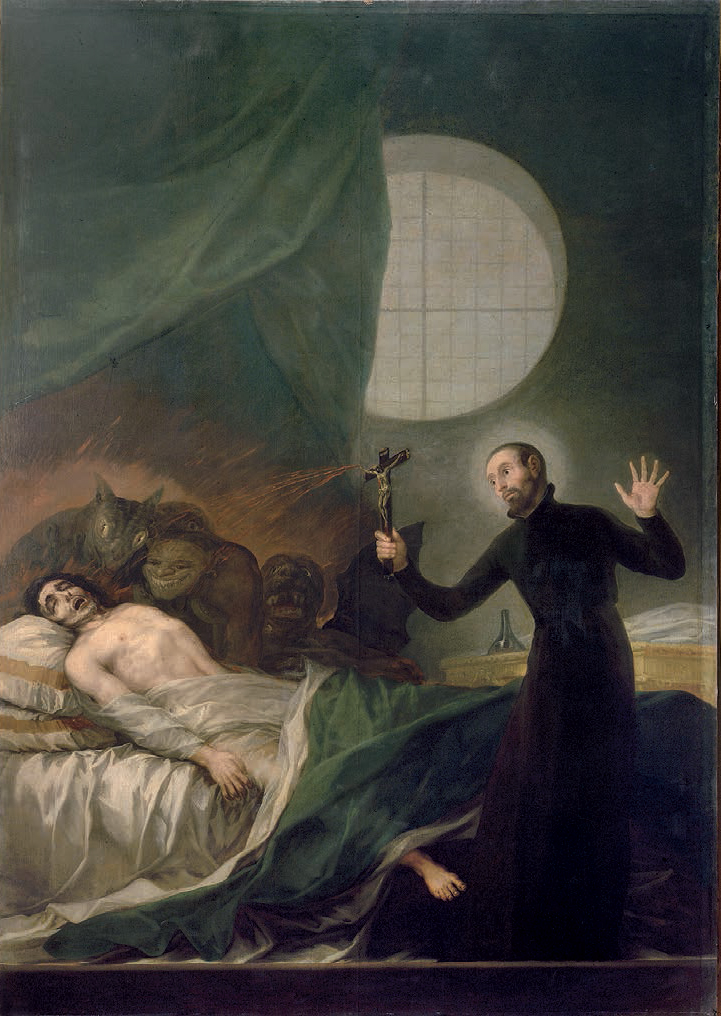 Francisco Goya of Saint Francis Borgia Helping a Dying Impenitent.jpg