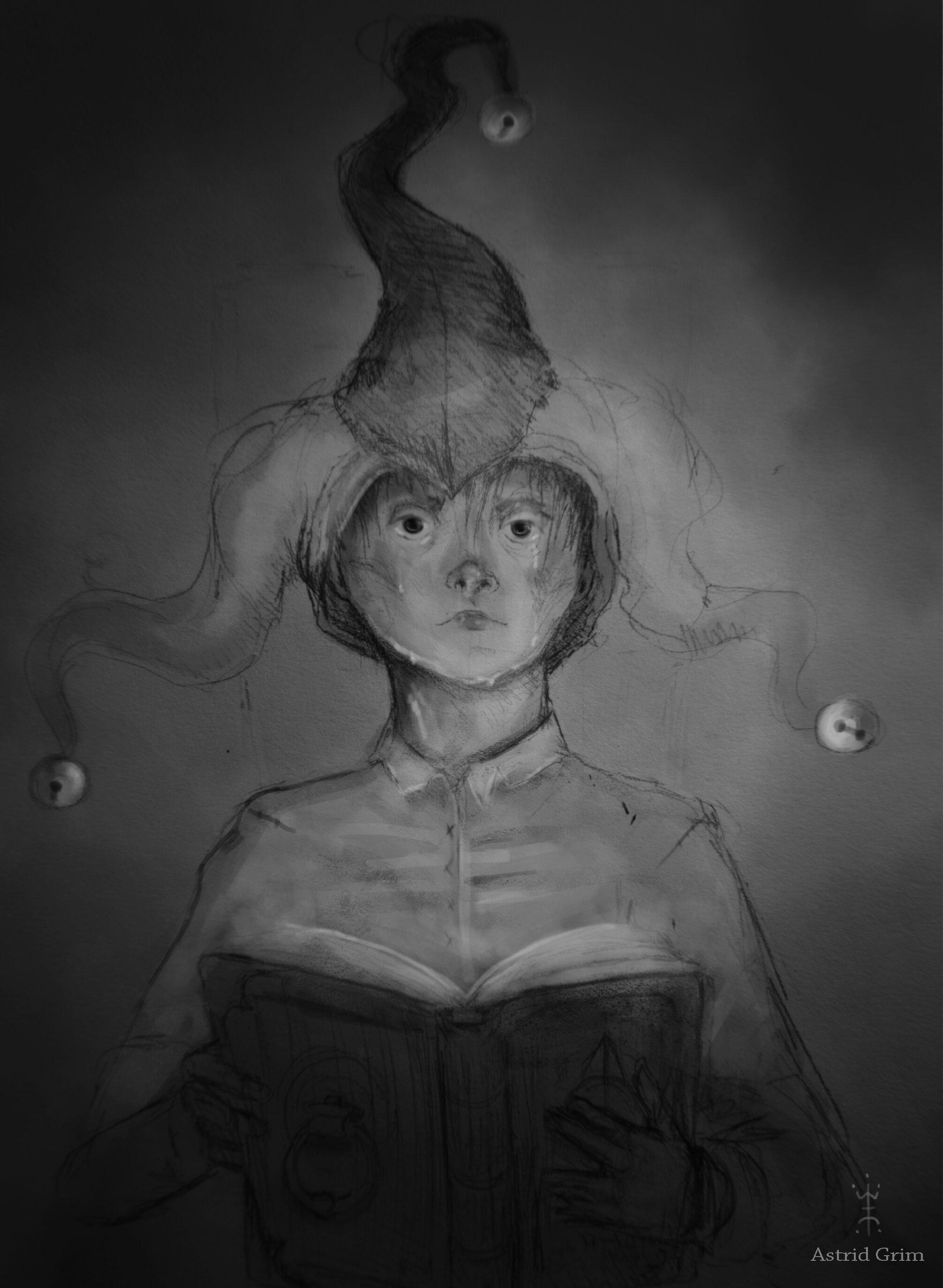 Art by  Astrid Grim .