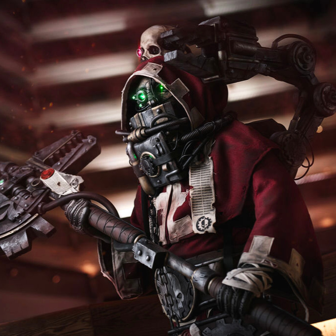 40K Tech Priest -