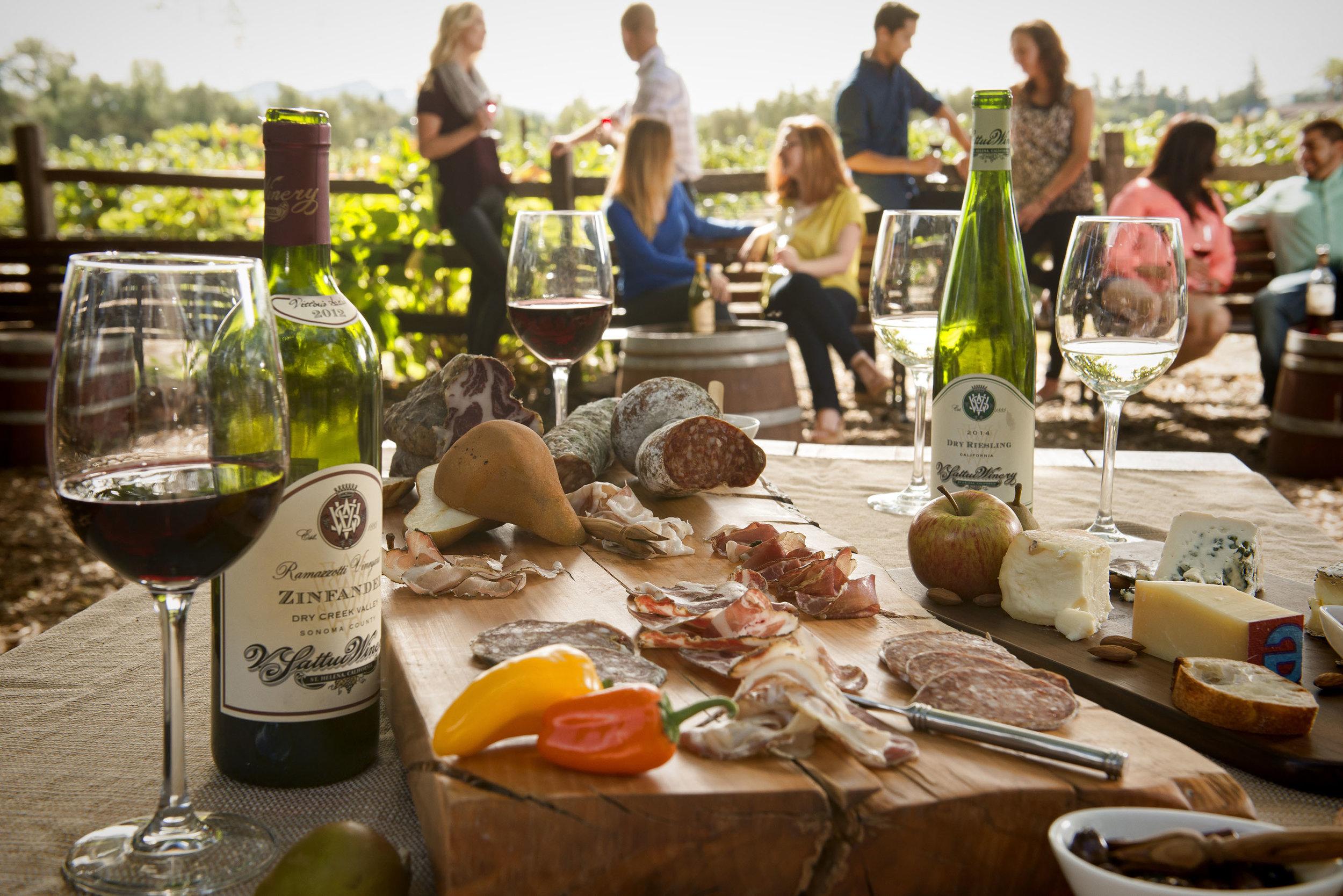 Enjoy Wine & Tasty Delights at V. Sattui