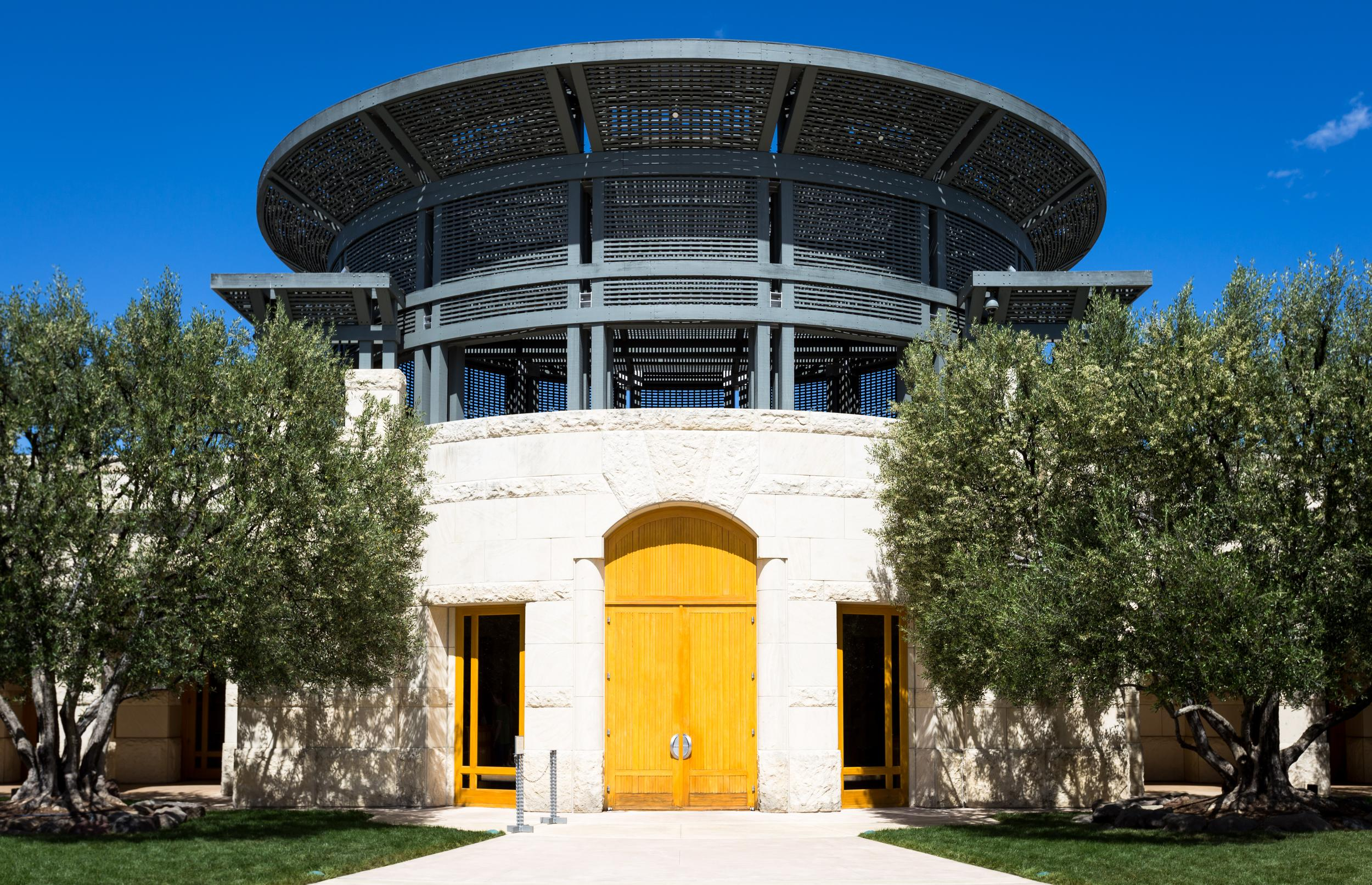 Entrance to Opus One Winery