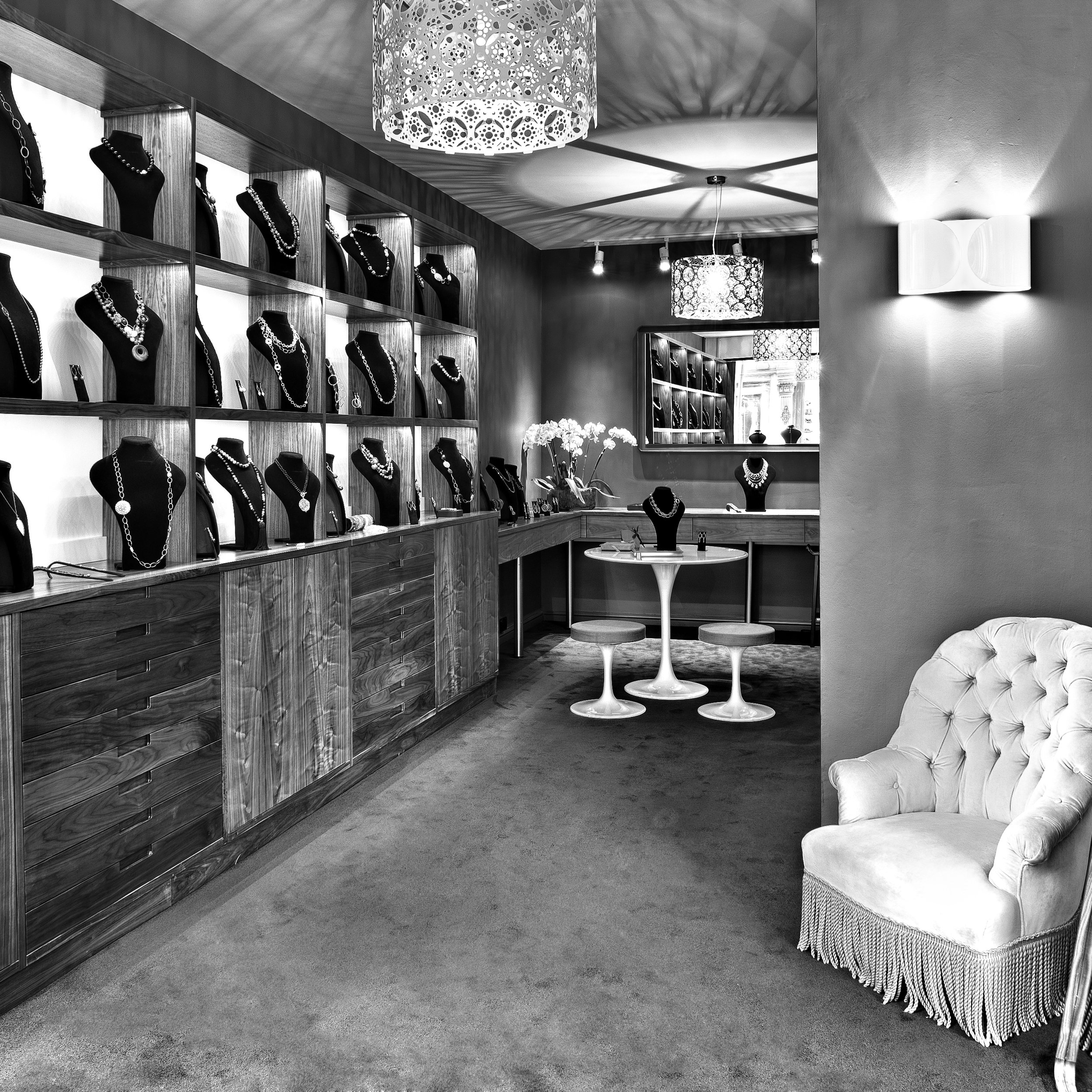 Interior of Chiltern St Boutique