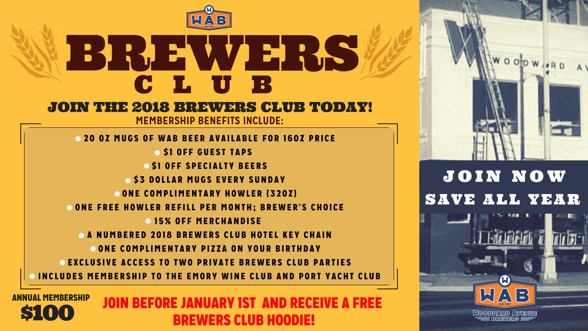 WAB Brewers Club 2018