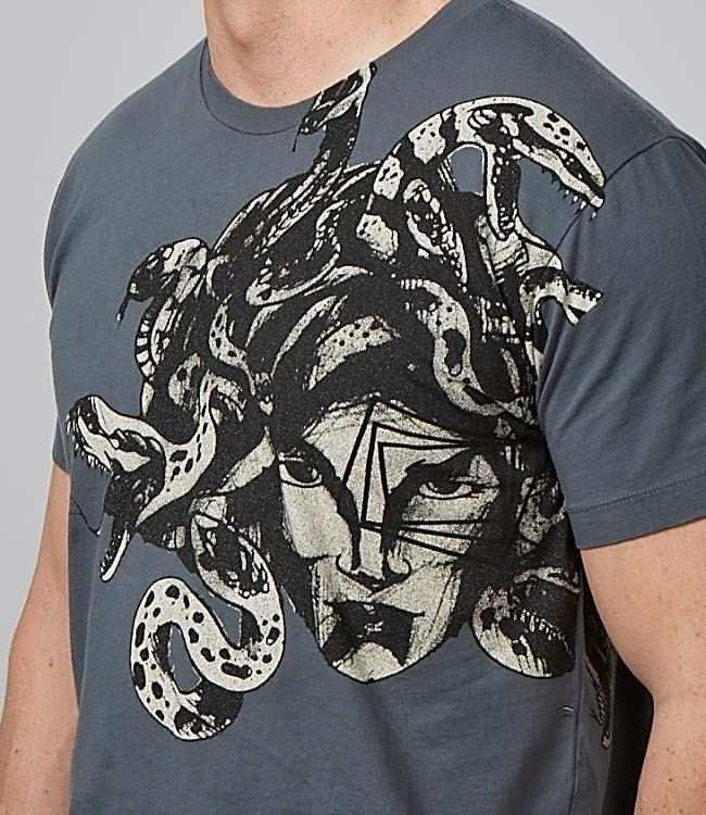 F+M Fashion and Music. Medusa Tee. Original Medusa element by Cory Correia.