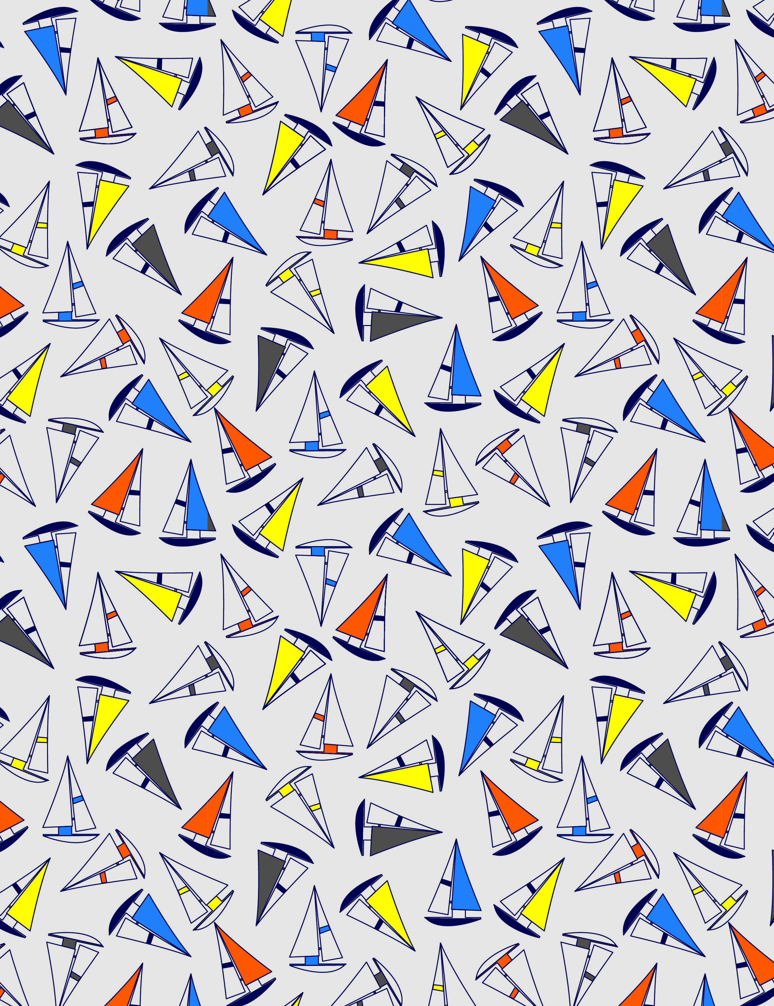 Boy's Nautical Boats Boy Short Print.