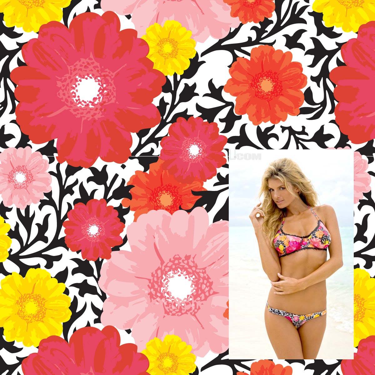 La Isla. New Floral print.
