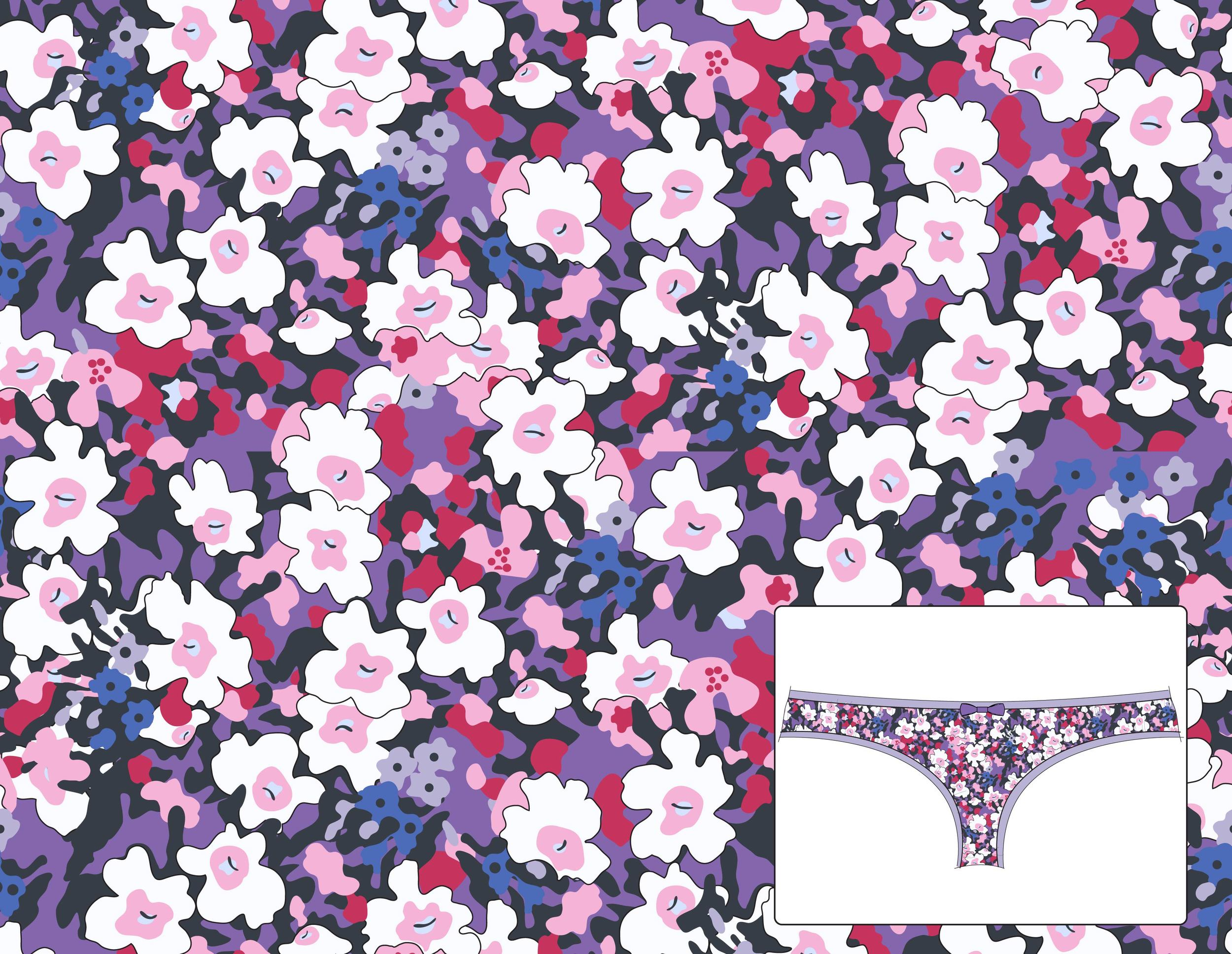 Saramax. Garden Print.