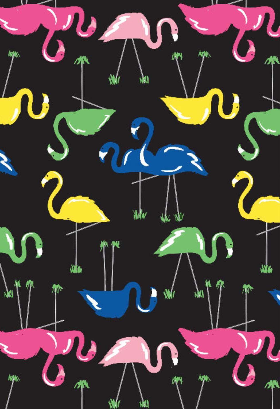 Richard Leeds International. Flamingo Pajama Print.