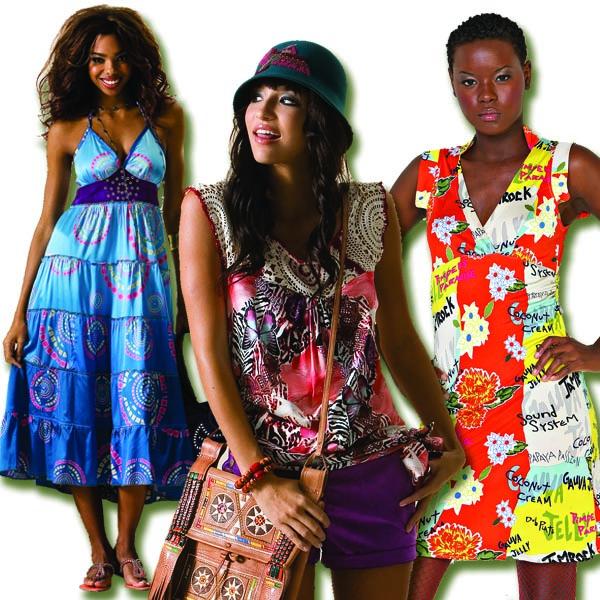Catch A Fire Clothing. Ocean Breeze, Jungle and Mixed Media Prints.