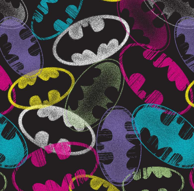 Richard Leeds International. DC Comics. Batman Graffiti Print.