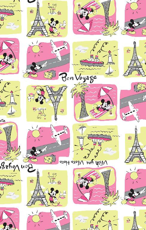 Richard Leeds International. Disney. Mickey's Vacation Print.