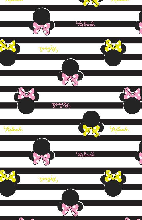 Richard Leeds International. Disney. Neon Minnie Print.