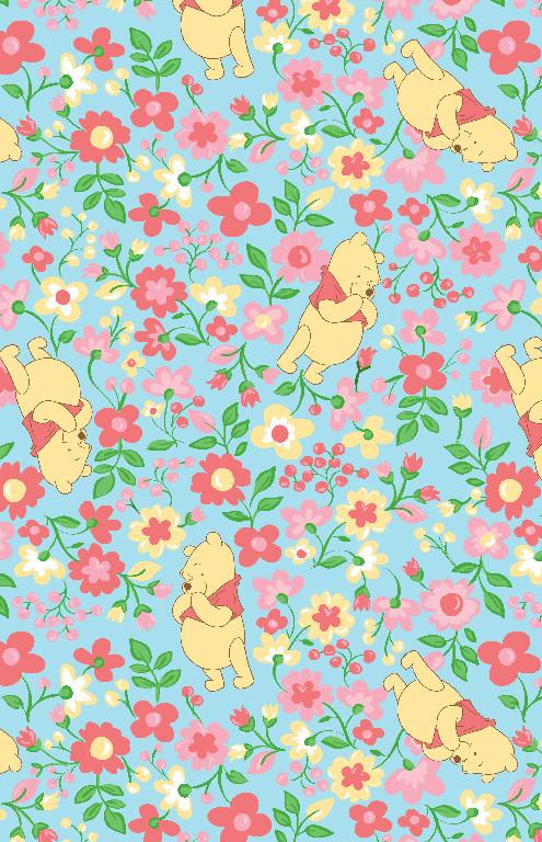 Richard Leeds International. Disney. Winnie the Pooh Garden Print.