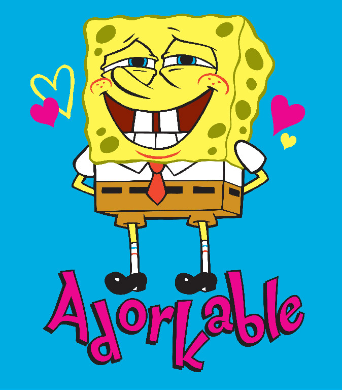 Richard Leeds International. Nickelodeon. Sponge Bob Adorkable Graphic.