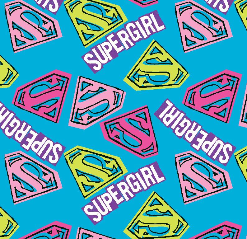 Richard Leeds International. Marvel. Supergirl Print.