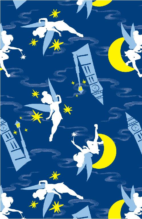 Richard Leeds International. Night Sky Tinkerbell Print.