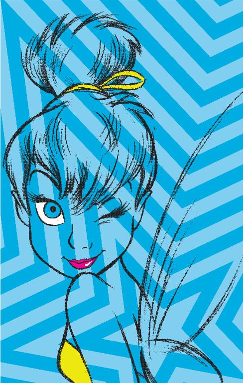 Richard Leeds International. Disney. Sassy Tink Graphic.