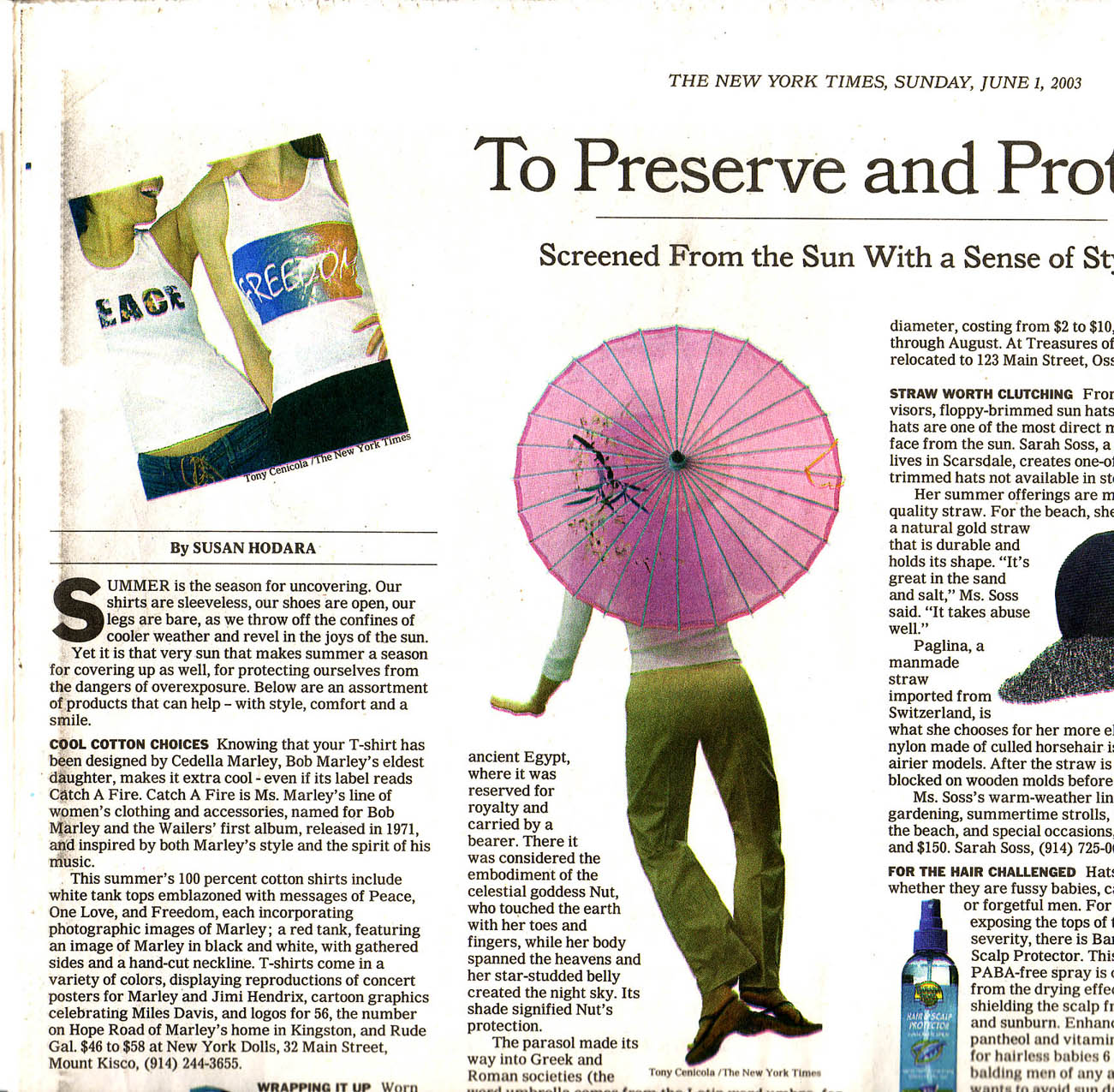 The New York Times. Catch A Fire Clothing. Peace and Freedom Tees.