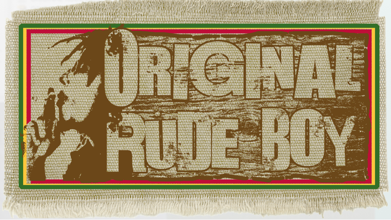 Original Rude Boy. Printed Label.