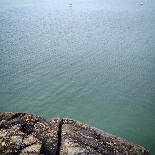 #maine #eggamoggin #rockisland #brooklin #ocean (at eggemoggin reach, brooklin ME)