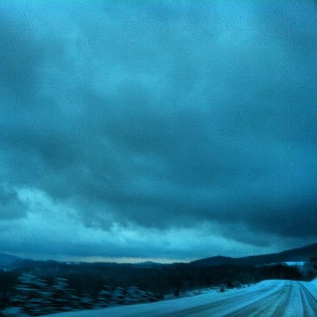 #Mountaintop #snowstorm #springbreak #va #ironmountians