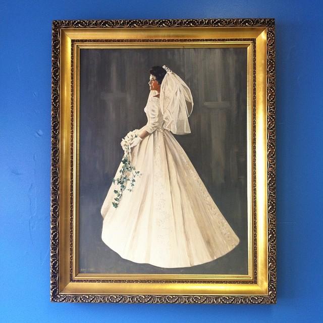 #Lexington #va #bride #bridalpainting