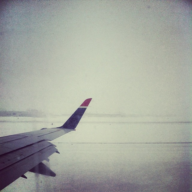 Back to the #snow.  (at Bradley International Airport (BDL))